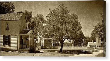 Canvas Print featuring the photograph Appomattox by Pete Hellmann