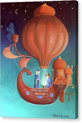 Apprenticeship Canvas Print by Tania Williams