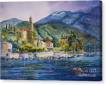 Approaching Bellagio Canvas Print by Betsy Aguirre