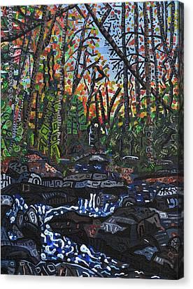 Approaching Big Bradley Falls Canvas Print by Micah Mullen