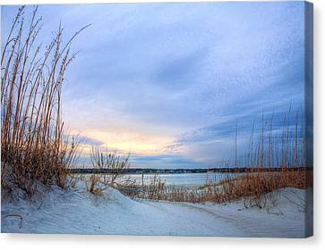 Approaching Storm Canvas Print by JC Findley