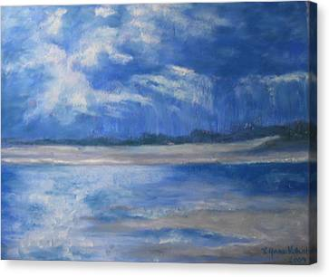 Approaching Storm Canvas Print by Lynne Vokatis