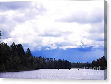 Approaching Storm Canvas Print by Thomas R Fletcher