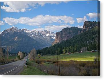 Approaching Wolf Creek Canvas Print by Jason Coward