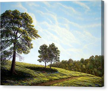 April Afternoon Canvas Print by Frank Wilson