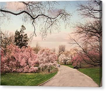 April In Bloom Canvas Print