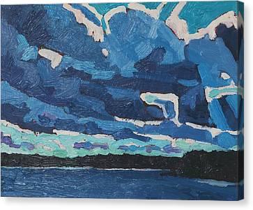 April Midday Cumulus Canvas Print