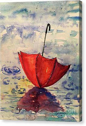 Canvas Print - April Shower by Tina Sheppard