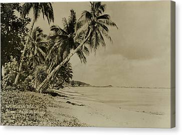 Apurguan Beach Guam Marianas Islands Canvas Print