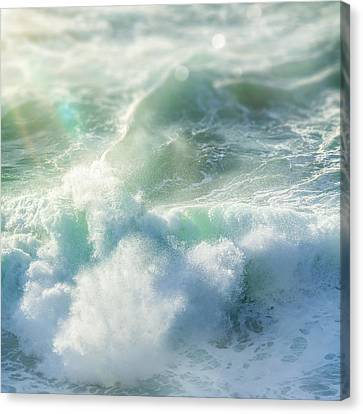 Canvas Print - Aqua Surge by Amy Weiss