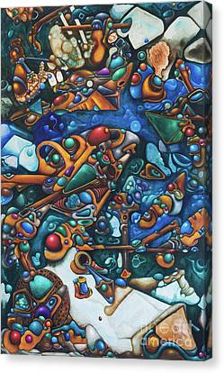 Aquariumalgam Canvas Print by Devin Cogger