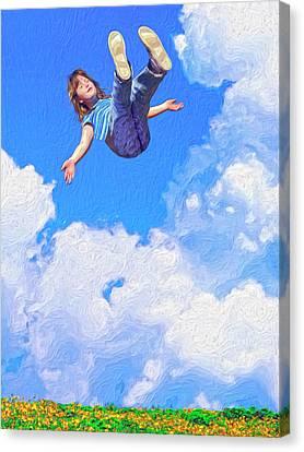 Aquarius Rising Canvas Print by Dominic Piperata