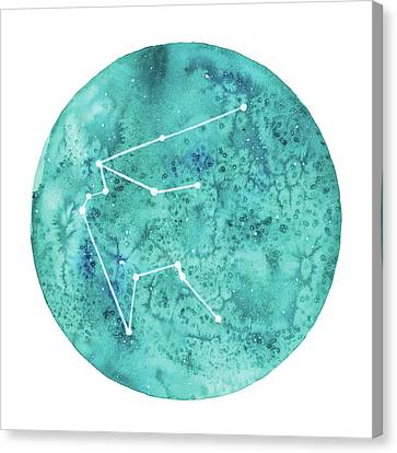 Aquarius Canvas Print by Stephie Jones