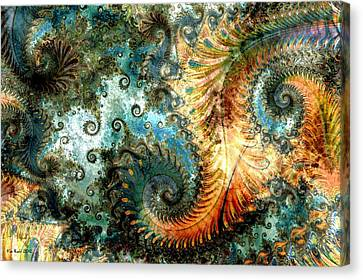 Aquatica Canvas Print