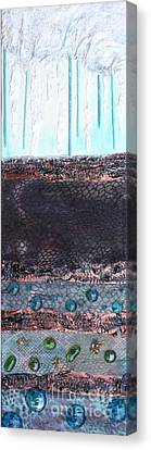 Canvas Print featuring the painting Aquifer by Terri Thompson