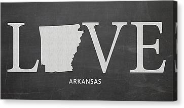 Ar Love Canvas Print by Nancy Ingersoll