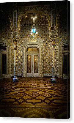 Arab Room Door Canvas Print by Marco Oliveira