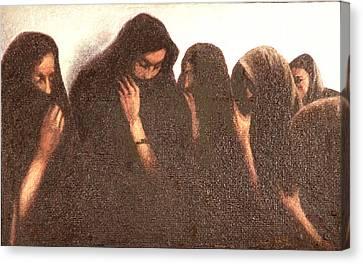 Arab Women Canvas Print by James LeGros