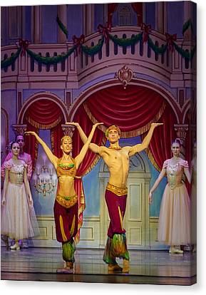 Canvas Print - Arabian Dancers by Ron Morecraft