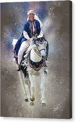Arabian Nights Canvas Print by Tom Schmidt
