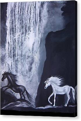 Arabians At Night Canvas Print