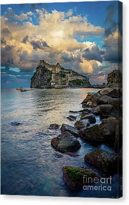 Italian Islands Canvas Print - Aragonese Coastline by Inge Johnsson