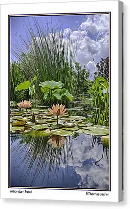 Arboretum Pond Canvas Print