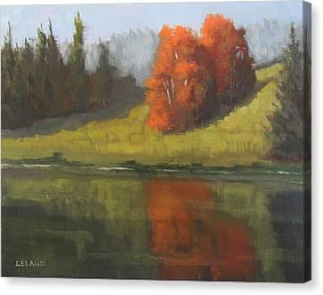 Uc Davis Canvas Print - Arboretum Walkway by Jim Leland