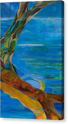 Arbour Lights Canvas Print by Meltem Quinlan