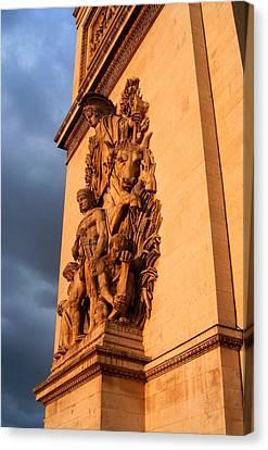 Arc De Triomphe Canvas Print by Juergen Weiss