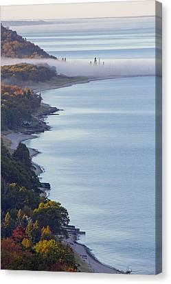 Lakeshore Canvas Print - Arcadia Lakeshore by Twenty Two North Photography