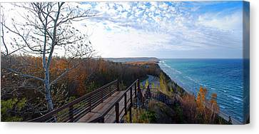 Arcadia Overlook In Fall Canvas Print by Twenty Two North Photography