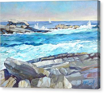 Arcadia Surf Canvas Print