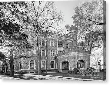 Arcadia University Grey Towers Castle Canvas Print