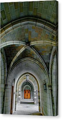Arch Designs Canvas Print by Optical Playground By MP Ray