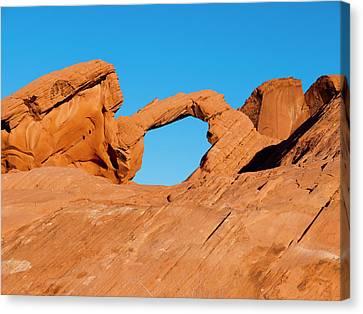 Arch Rock Canvas Print by Rae Tucker