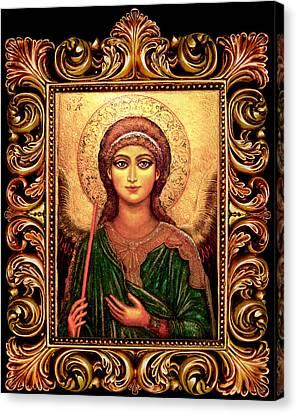 Archangel Gabriel Canvas Print by Ananda Vdovic