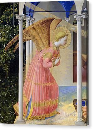 Archangel Gabriel Canvas Print by Fra Angelico