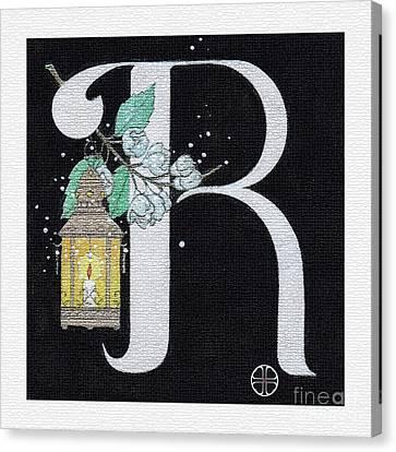Archangel R Canvas Print by Art By LaRoque