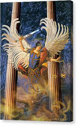 Archangel Raguel Canvas Print