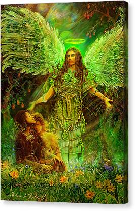 Archangel Raphael Canvas Print