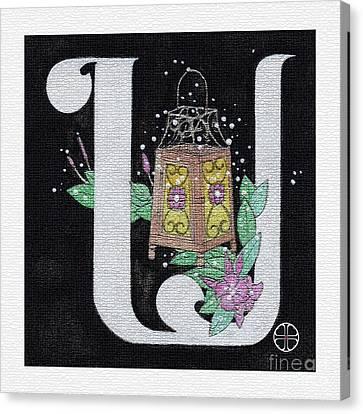 Archangel U Canvas Print by Art By LaRoque