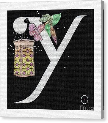 Archangel Y Canvas Print by Art By LaRoque