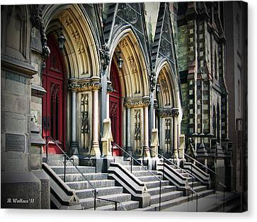 Arched Doorways Canvas Print