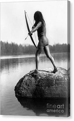 Archery: Nootka Indian Canvas Print by Granger