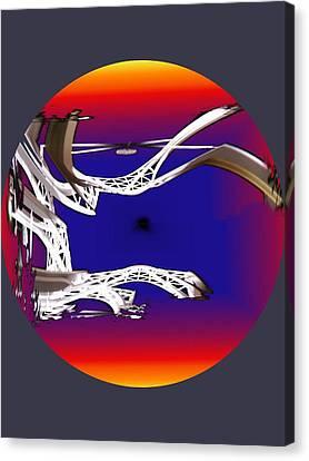 Arches 2 Canvas Print by Tim Allen