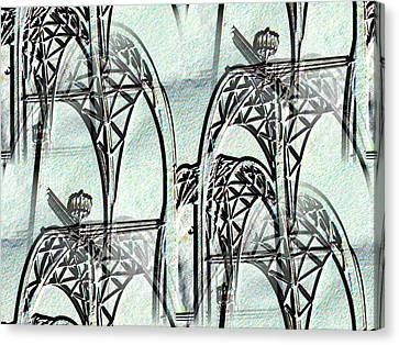 Arches 4 Canvas Print by Tim Allen