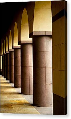 Arches And Columns 2 Canvas Print by John Gusky