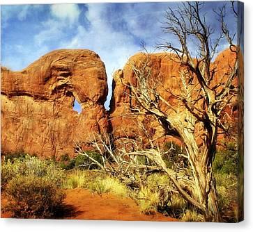 Arches Landscape 6 Canvas Print