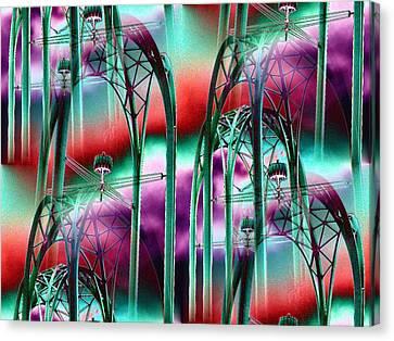 Arches Canvas Print by Tim Allen